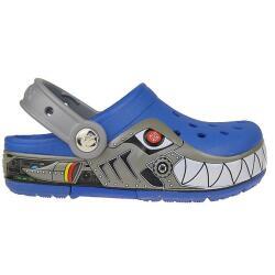 CROCS CrocsLights Robo Shark Clog Blinkschuhe NEU Gr.24-33