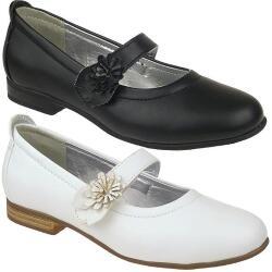 INDIGO Ballerina festlicher Schuh matt in schwarz oder...