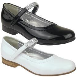 INDIGO Ballerina festlicher Schuh Lack in schwarz oder...