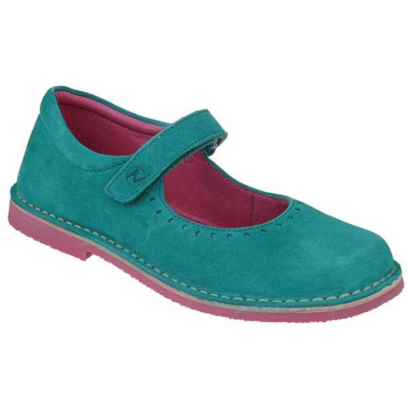 Schuh Türkis