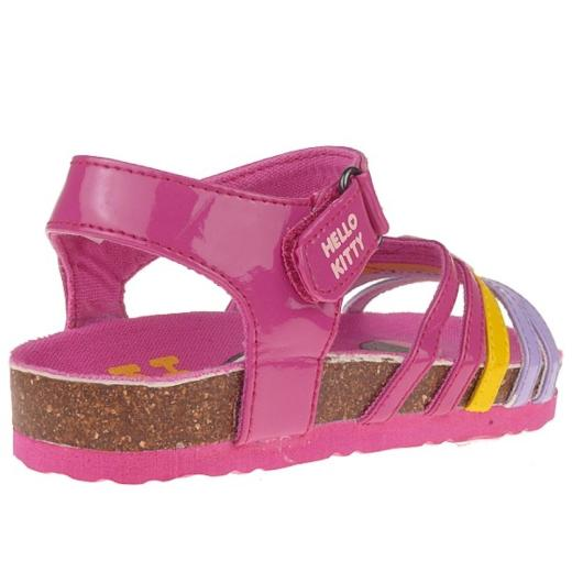 Hello Kitty HK ALICE Sandalen in Pink, Klettverschluss, Gr. 22-27