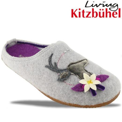 Living Kitzbühel zauberhafter Hausschuh Hirsch Strass Gr.36-42