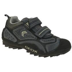 GEOX J SAVAGE  sportlicher Halbschuh Sneaker blau oder...