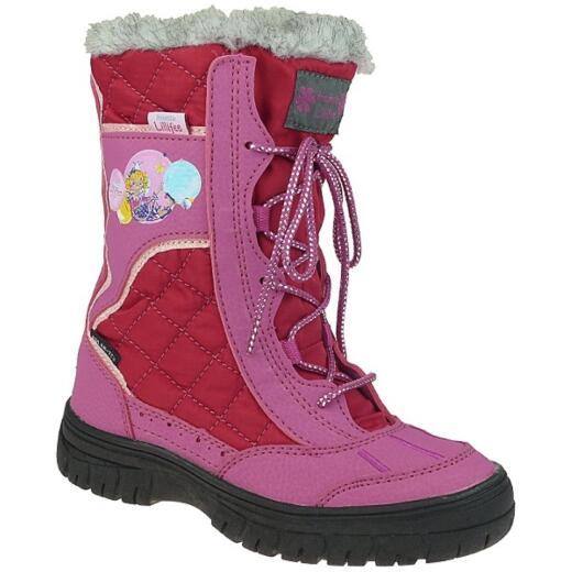 Mode Neue Produkte stylistisches Aussehen Prinzessin Lillifee 470537 Mädchen Desert Winterstiefel, Pink, Gr. 25-35