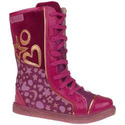 Agatha Ruiz de la Prada Mod.141965 dick gefütterte Stiefel Gr.24-35 Pink EUR 24