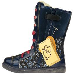 Agatha Ruiz de la Prada Mod.141965 dick gefütterte Stiefel Gr.24-35 blau EUR 24