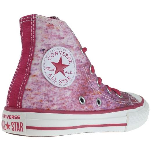 CONVERSE Chuck Taylor All Star Sneaker berry pink / white  Gr.27-38,5