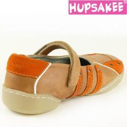 Hupsakee Ballerina, Glattleder, orange braun, Gr. 26-32