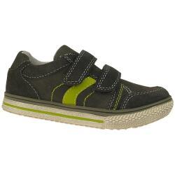 INDIGO Jungen Leder Sneaker Halbschuh anthrazit Gr.28-35