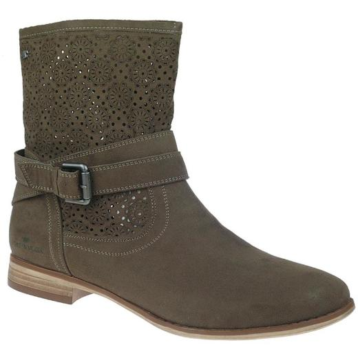 reputable site afad8 5db32 TOM TAILOR coole Damen Sommer Stiefel 759070700 Gr.37-42