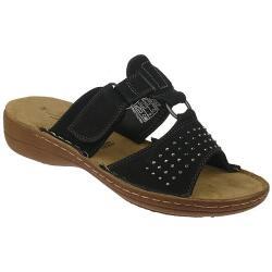 Jane Klain / IDANA trendige Sandale Pantolette schwarz...