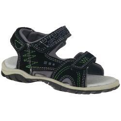 INDIGO Kinder Sandale Leder schwarz NEU Gr.25-35
