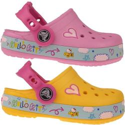 CROCS CB Hello Kitty Plane Clog  in 2 tollen Sommerfarben...