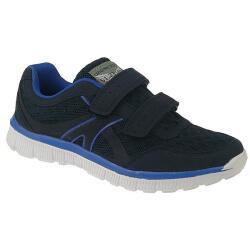 INDIGO federleichter sportlicher Sneaker Halbschuh blau...