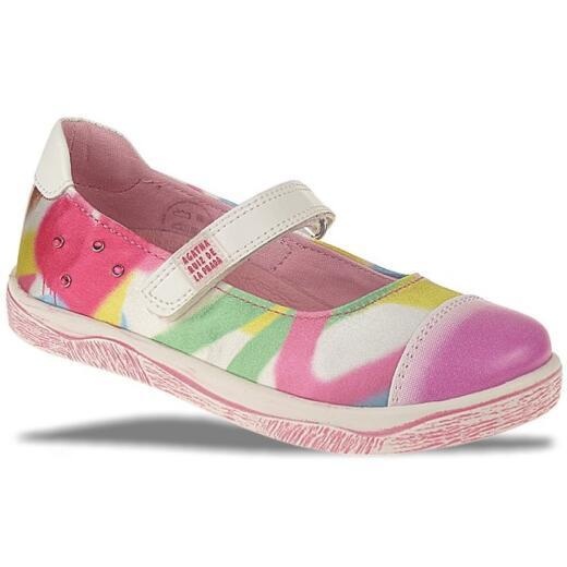 AGATHA RUIZ DE LA PRADA Leder Sneaker Ballerina Multicolor Gr.24-32 Ballerina EUR 30