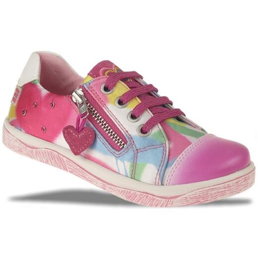 AGATHA RUIZ DE LA PRADA Leder Sneaker Ballerina Multicolor Gr.24-32 Halbschuh EUR 27