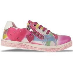 AGATHA RUIZ DE LA PRADA Leder Sneaker Ballerina Multicolor Gr.24-32 Halbschuh EUR 32