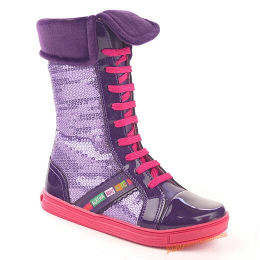 Agatha Ruiz de la Prada Stiefel mit Fußbett, Gr. 27-35 34