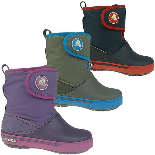 detailed look 61117 08e18 CROCS Kids Crocband II.5 Gust Boot Winterstiefel 3 Farben Gr.25-35