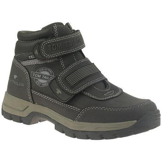 separation shoes 8a011 1dac1 TOM TAILOR Jungen Boots Halbstiefel schwarz Gr.31-40
