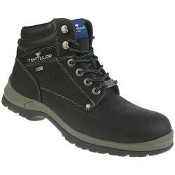 TOM TAILOR Herren Boots High-Top Stiefelette Warmfutter...