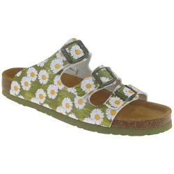 DR.BRINKMANN Pantolette Sandale 2 Varianten Lederfussbett...