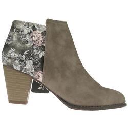 BRUNO BANANI 253-336 Stiefelette Ankle Boots Leder-Optik...