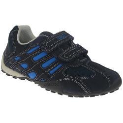 GEOX  J SNAKE BOY Jungen Sneaker Leder in 2 Farben Gr.30-41