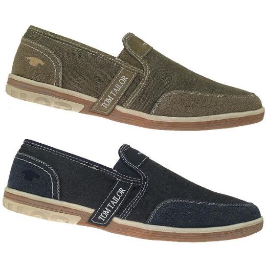 TOM TAILOR 9681106 Sneaker Slipper jeans oder mud  Gr.41-46