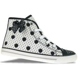 Primigi College G90 High Top Sneaker weiß schwarz...