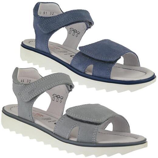 competitive price 0fa97 745c3 SUPERFIT Leder Sandale NELLY für Mädchen Gr.31-42