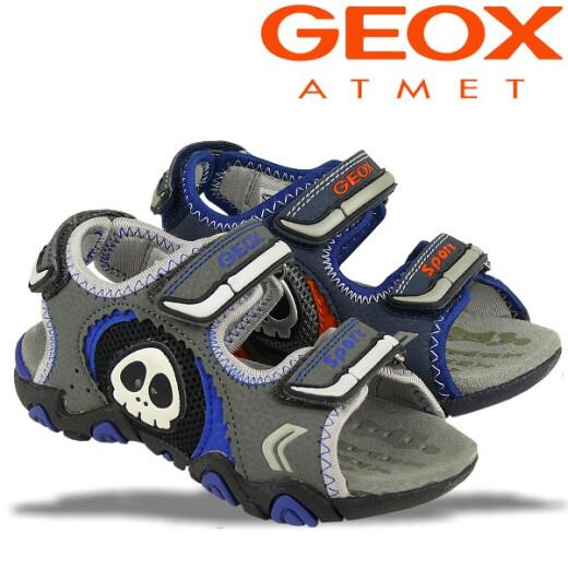 GEOX Blink Sandale STRIKE in 2 Farben NEU Gr.26-34 grau 32