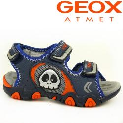 GEOX Blink Sandale STRIKE in 2 Farben NEU Gr.26-34 grau 34