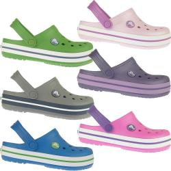 CROCS Crocband Kids Clogs in neuen Sommerfarben NEU Gr.21-35