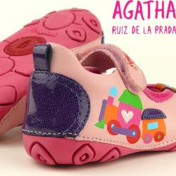 AGATHA RUIZ DE LA PRADA Lauflerner Fußbett  Gr.20-22 22