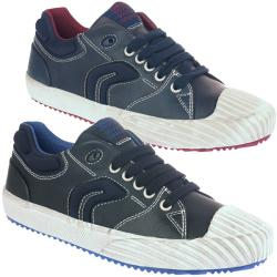 GEOX JR ALONISSO Boy trendiger Schuh Slip-on in 2 Farben...