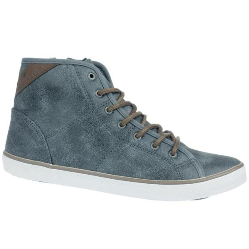 tom tailor damen high top sneaker boots 1691605 warmfutter. Black Bedroom Furniture Sets. Home Design Ideas