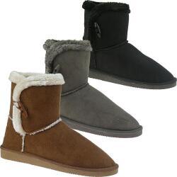 INDIGO kuschelige Boots CANADIANS in 3 tollen Farben...