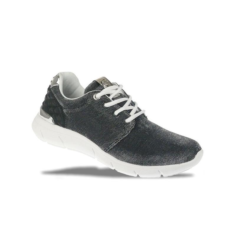 tom tailor 2791702 damen sneaker glitzer look super leicht. Black Bedroom Furniture Sets. Home Design Ideas