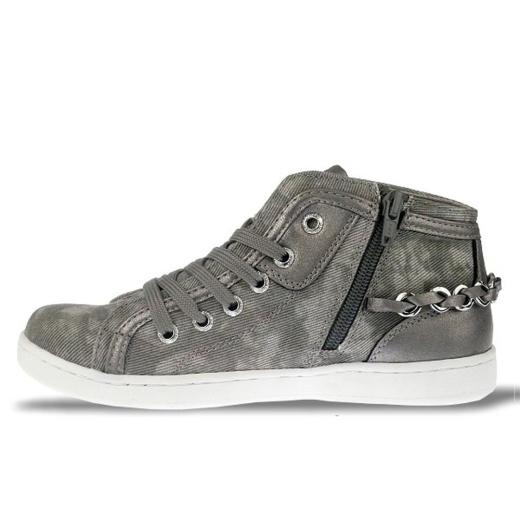 TOM TAILOR Mädchen High-Top-Sneaker 772711 grey Gr.33-40
