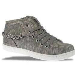 TOM TAILOR Mädchen High-Top-Sneaker 772711 grey...