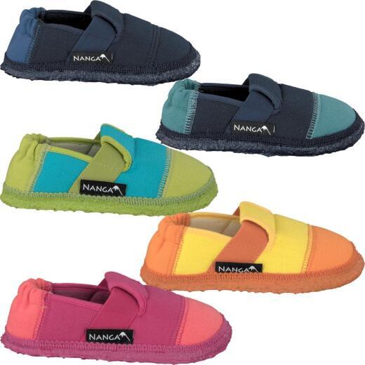 NANGA KLETTE Hausschuh Slipperform in 5 Farben Gr.23-42
