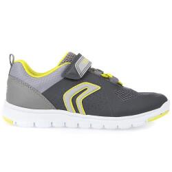 GEOX  J XUNDAY BOY Jungen Sneaker Low-Top grey/lime...