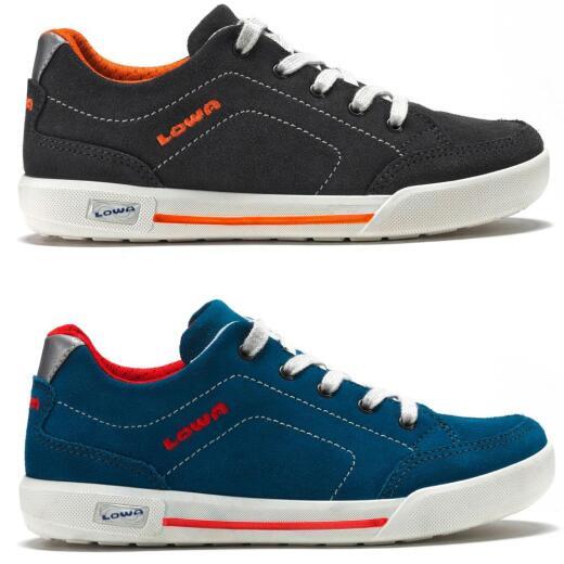 7aa0a05456 LOWA PALERMO Kids Low-Cut Halbschuh Sneaker NEU Gr.30-40 ...