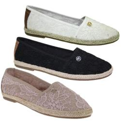 TOM TAILOR  4892013 Damen Espadrilles cream oder black...
