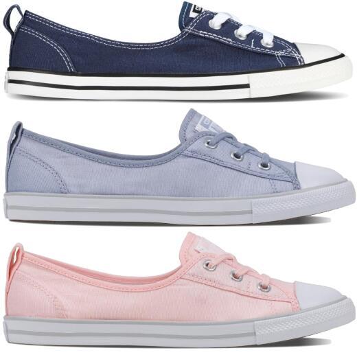CONVERSE CTAS Ballet Lace Slip Sneaker in 3 Farben NEU Gr.38 43