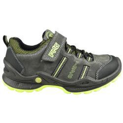 Primigi PFO 7636 Halbschuh Sneaker Leder Klett Grau Gr.31-40