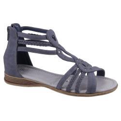 INDIGO Mädchen Römer-Sandale in 3 Farben Gr.31-39
