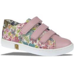 PRIMIGI PGL 7166 Halbschuh Sneaker Leder Textil rosa...
