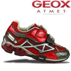 GEOX Blink Sneaker FIGHTER2 M rot o. schwarz Gr.26-34 schwarz 28